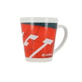 Small aircraft mug