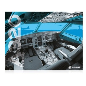 A320 cockpit poster