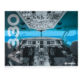 Poster cockpit A330