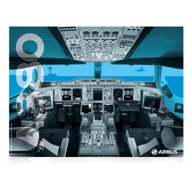 Poster cockpit A380