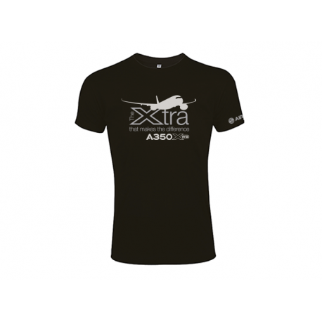 """A350 XWB Tee shirt """"Xtra that makes the difference"""""""