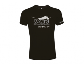 """Camiseta A350 XWB """"The Xtra that makes the difference"""""""