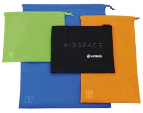 Airspace travel set of go clean bags