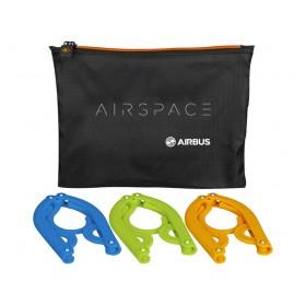 Airspace 3-pieces foldable hanger set