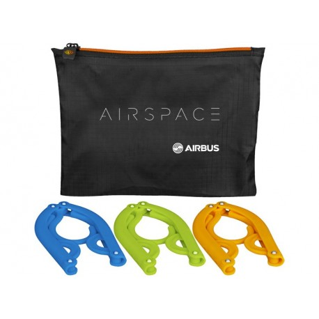 Airspace 3-pieces foldable hanger set