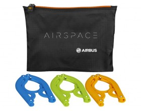 Airspace Set de 3 perchas plegables