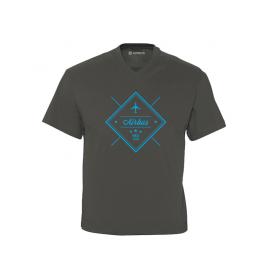 """Camiseta cuello pico Airbus """"Since 1970"""""""