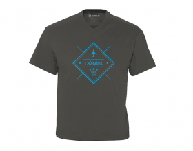 "Tee-shirt Airbus Col V ""Since 1970"""