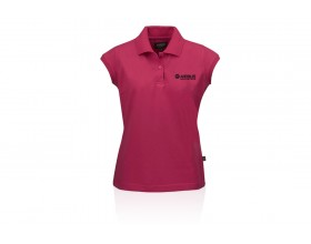 Women's polo shirt orchid pink Airbus HELICOPTERS