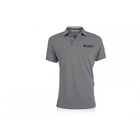 "Men's polo shirt ""Vintage Grey"" - Airbus HELICOPTERS"