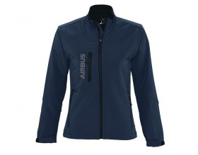Women Softshell zipped jacket