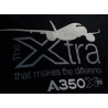 "Tee shirt A350 XWB ""the Xtra that makes the difference"""