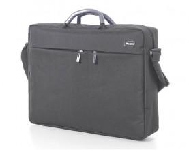 """Premium Document bag - 15"""" laptop compartment - Grey"""