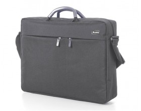 "Premium Document bag - 15"" laptop compartment - Grey"