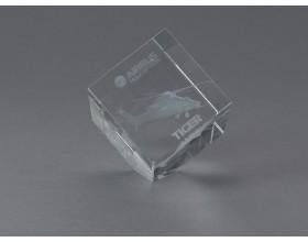TIGER Cristal Block 4 x 4 x 4 cm