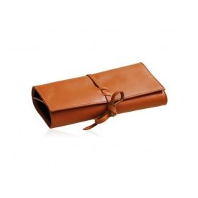 Leather jewel holder