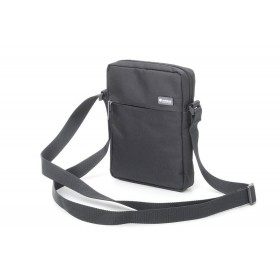 Premium Mini shoulder bag grey with mini tablet compartment