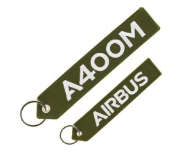 "A400M ""remove before flight"" key ring"