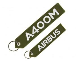 "Porte clés A400M ""remove before flight"""