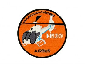 H130 embroidered patch