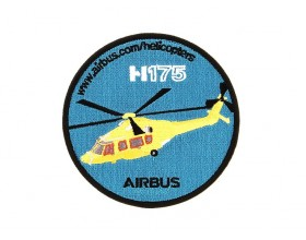 H175 embroidered patch