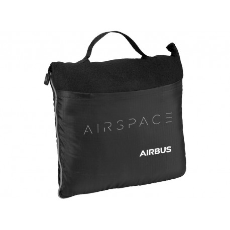 Airspace packable fleece blanket