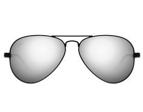 Gafas de sol en fibra de carbono Aviador M2