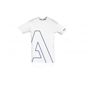 Unisex round collar T-Shirt white
