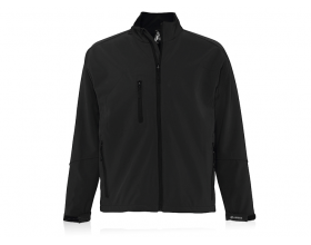MEN'S SOFTSHELL Zipped jacket