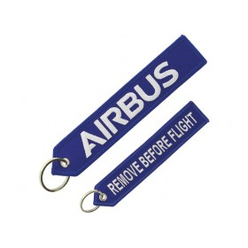 Blue Airbus key ring
