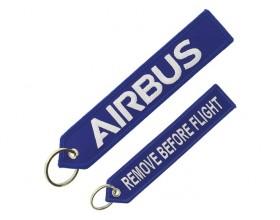 Blue Airbus key ring