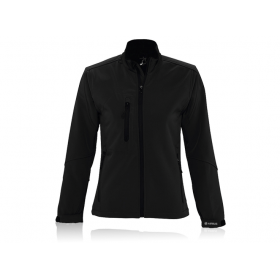 Women's softshell zipped jacket