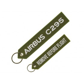 "C295 ""remove before flight"" key ring"