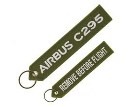 "C295 ""remove before flight"" key ring"