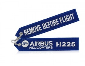 Nylon strap key ring - H225 - Remove blue- Airbus Helicopters
