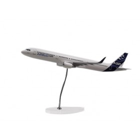 "Maquette ""executive"" A321 moteurs CFM échelle 1:100 sharklet"
