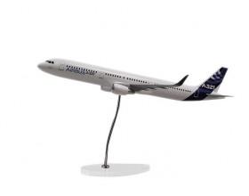 A321 CFM 1:100 new sharklet scale model