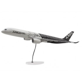 Executive A350 XWB carbon livery 1:100 scale model