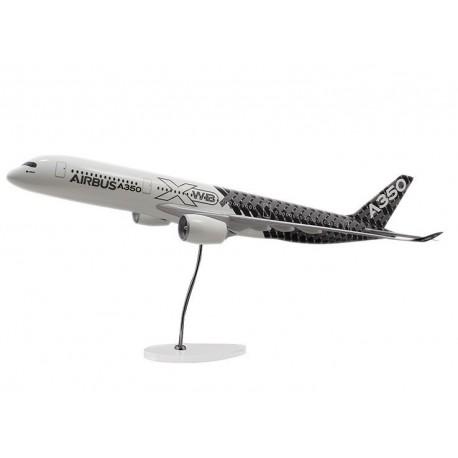 A350 Xwb model 1:100 carbon livery